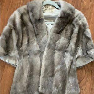 Beautiful mink stole Reno Nevada gray